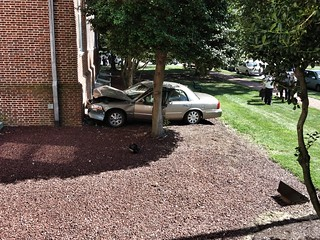 Car crashes into Townsend Building, Dover, Delaware | by -Jeffrey-