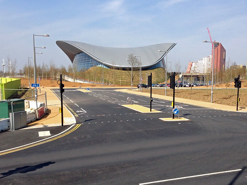 Aquatics Centre from Loop Road | by diamond geezer