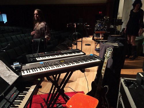 Keyboard Rig Setup for DEJA Wall Show (Feb 14 2016)