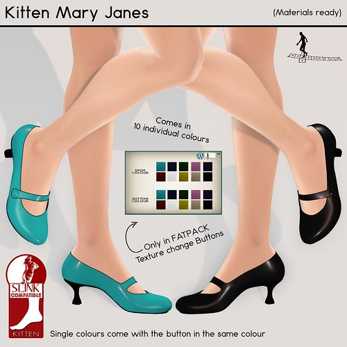 Kitten Mary Janes