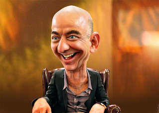 Jeff Bezos - Caricature | Jeffrey Preston Bezos, aka Jeff