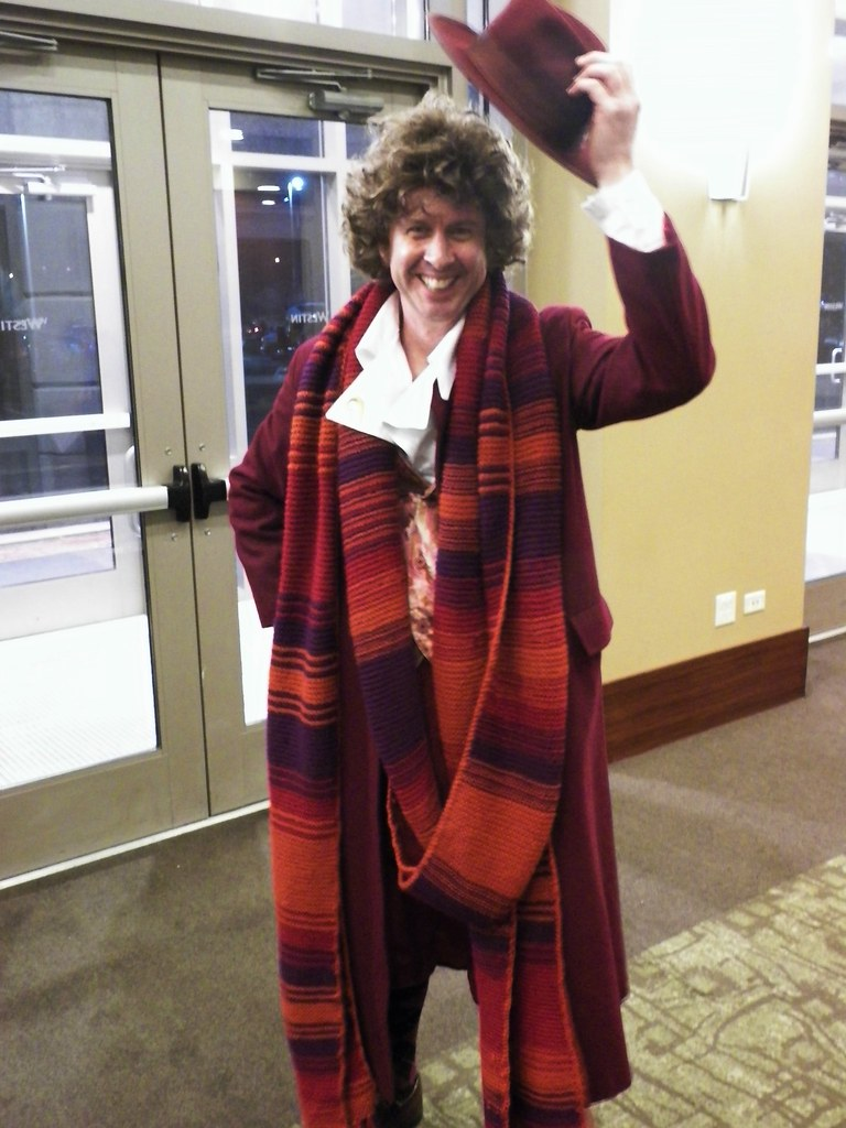 ... Chicago TARDIS - The Fourth Doctor (season 18) | by lesather  sc 1 st  Flickr : the 4th doctor costume  - Germanpascual.Com