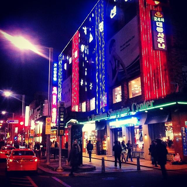 Always bright at night  #christmas #lights #city #itaewon … | Flickr