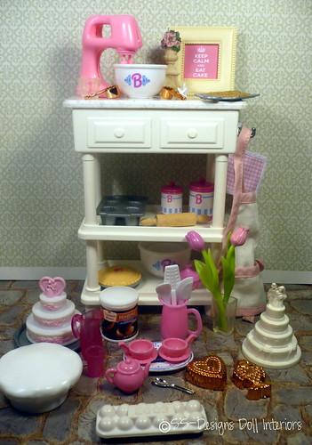 """SS-Designs Doll Interiors"", ""Barbie"