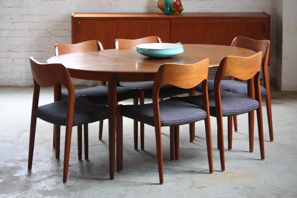 Capable Danish Mid Century Modern Skovmand Andersen Expand Flickr - Danish modern kitchen table