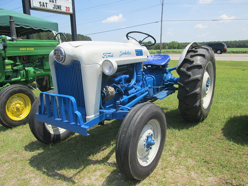 Ford Orchard Tractor : Ford jubilee tractor mark flickr