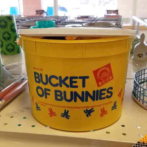bucket of bunnies