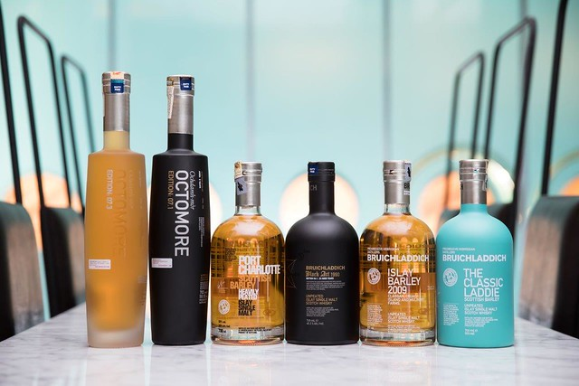 Full Range - Octomore 7.3, Octomore 7.1, Port Charlotte, Black Art 4.1, Islay Barley 2009, Classic Laddie