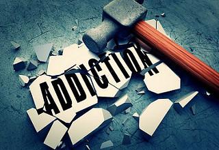 drug addiction sledge hammer