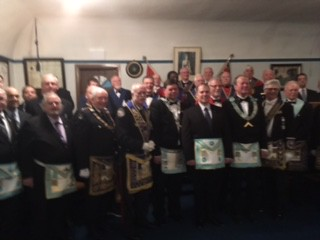 2017 03 07 Fraternal Visit to Campbell Lodge No. 603