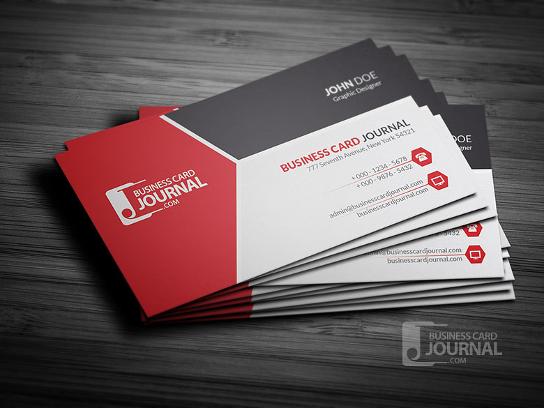 Modern tricolor business card template for professional flickr modern tricolor business card template for professional by meng loong reheart Images