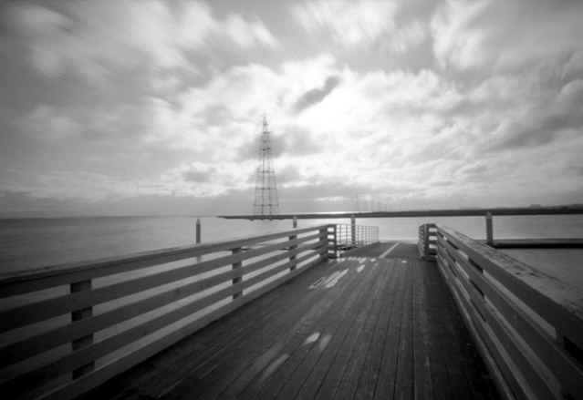 Pinhole California Shoreline