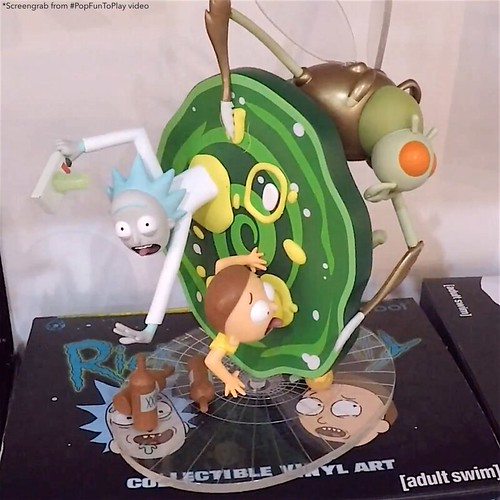 RICK MORTY ADULT SWIM KIDROBOT 1
