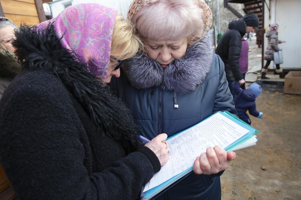 В храме св. Андрея Боголюбского на Волжском состоялась ярмарка