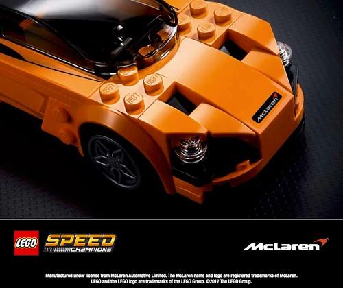 LEGO Speed Champions McLaren 720S (75880)
