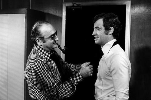 Peur sur la Ville - backstage 1 - Jean-Paul Belmondo et Henri Verneuil