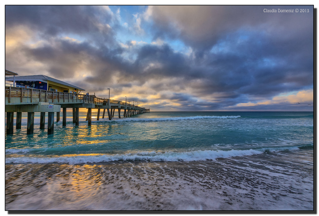 Dania Beach Fishing Pier North Hollywood Fl View On Fluid Flickr