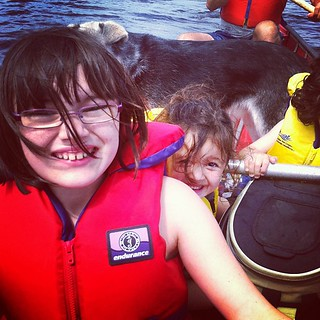 Out canoeing #summer #canoeing #halifax | by chelle-mom