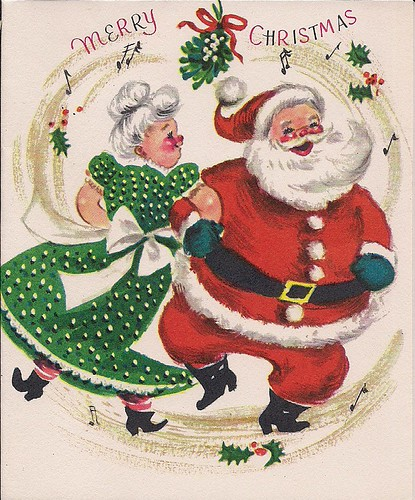 Vintage Christmas Card Susy Flickr