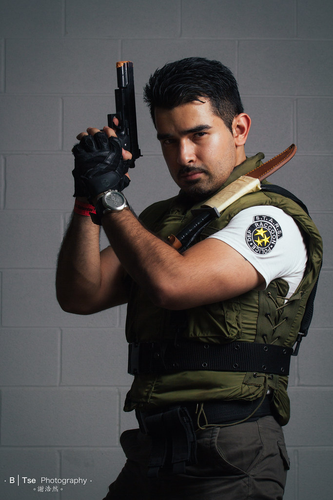 Chris Redfield From Resident Evil 1 Btsephoto Flickr