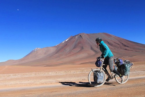 Pedalling past Volcan Juriques | by Pikes On Bikes