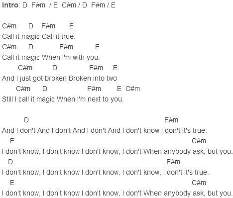 Coldplay Magic Chords Coldplay Magic Chords Chords Flickr