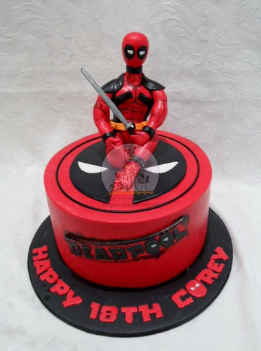 Deadpool Cake Pan