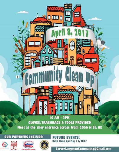 Community CleanUpApril8_FINAL