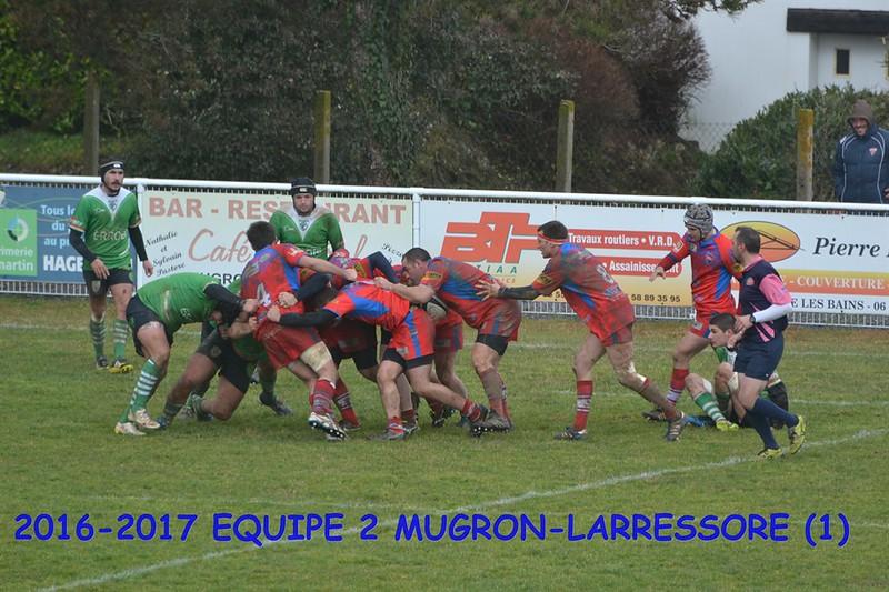 2016-2017 EQUIPE 2 MUGRON-LARRESSORE