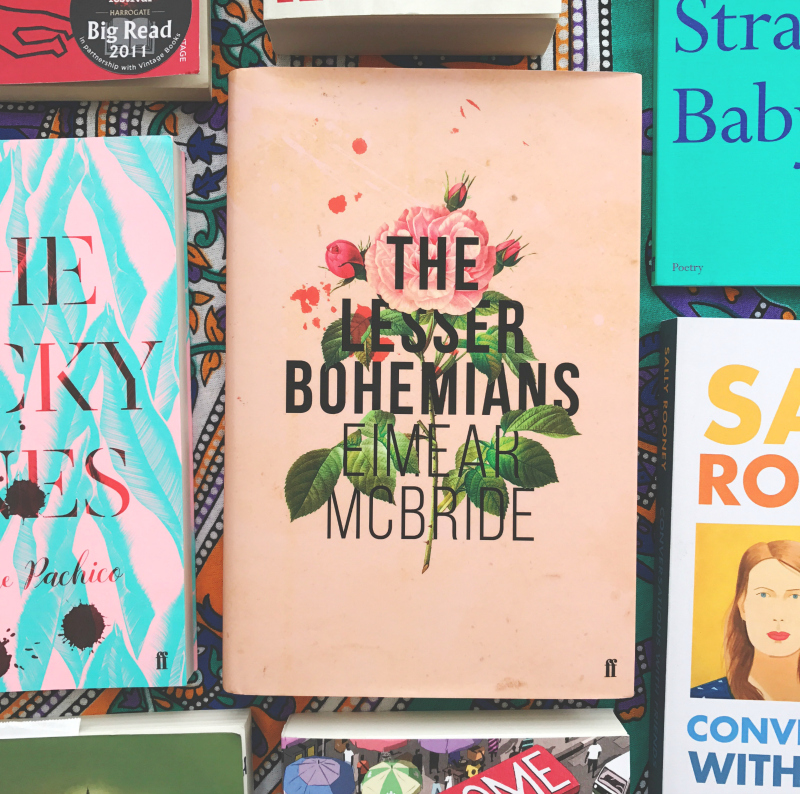 book haul blog the lesser bohemians eimear mcbride vivatramp