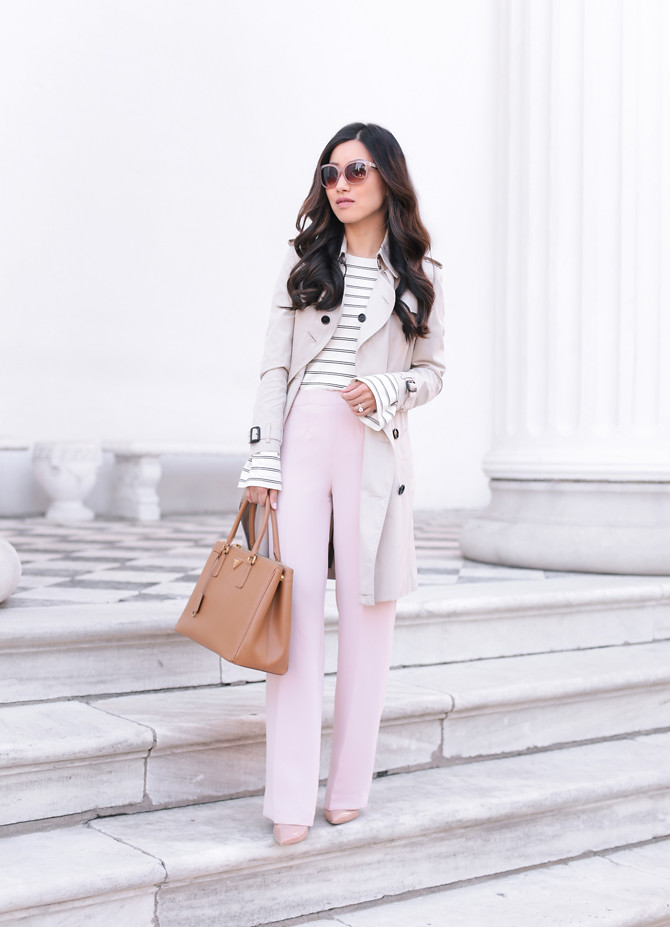 spring business casual work outfit petite fashion