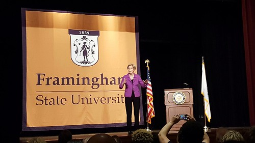 Senator Elizabeth Warren at FSU.