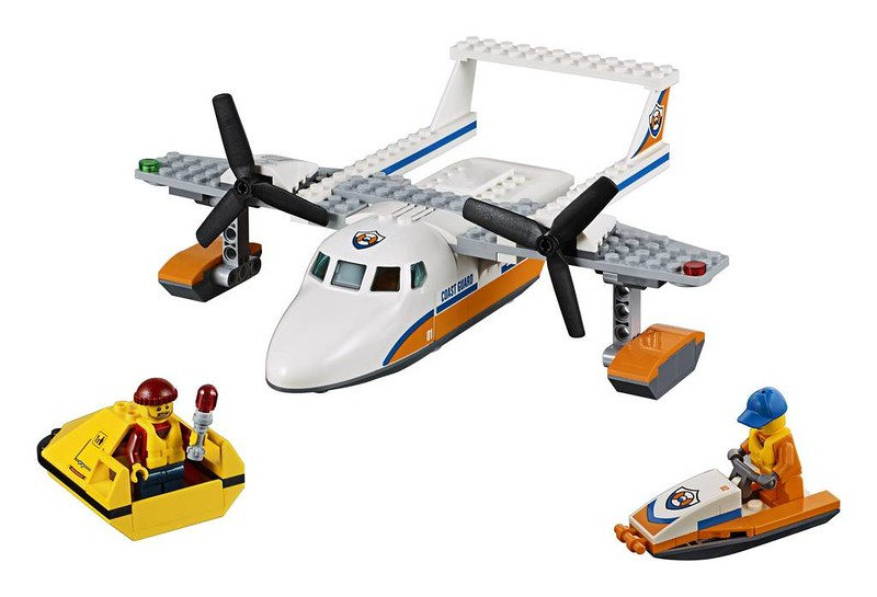 LEGO City Sea Rescue Plane (60164)
