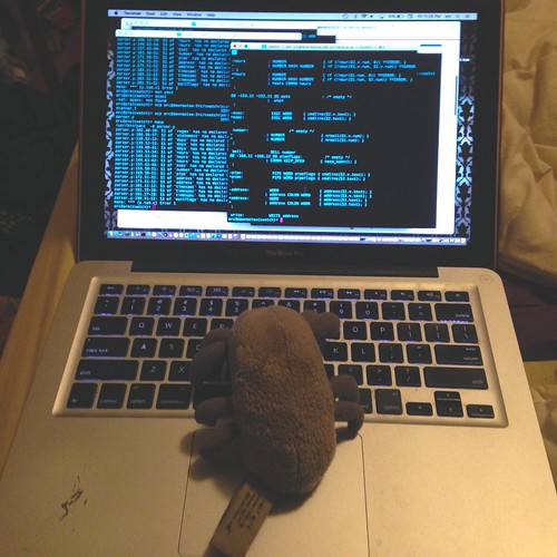 Dust Mite helps me fight with git