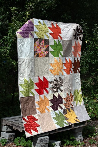 Anticipating Autumn: A Modern Maples Quilt | by aquilterstable