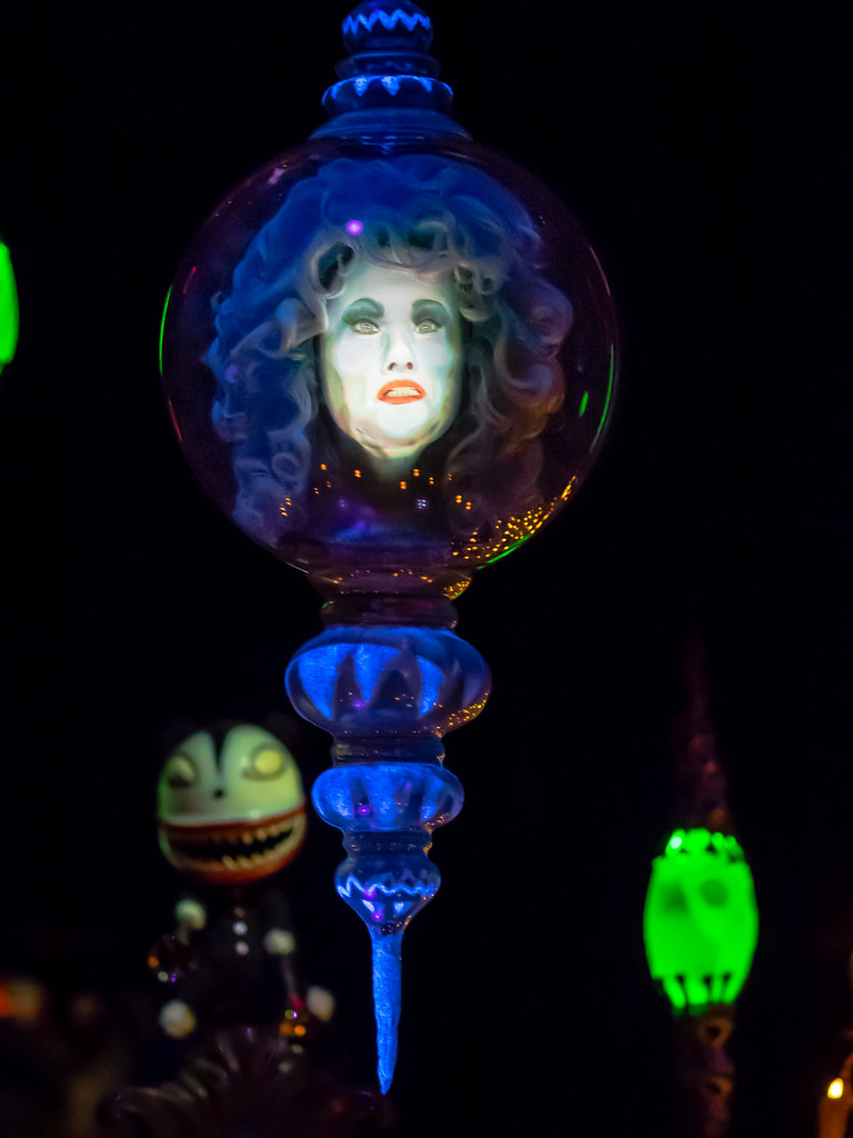 ... Holiday Haunted Mansion - Madame Leota Ornament | by Cobbpr