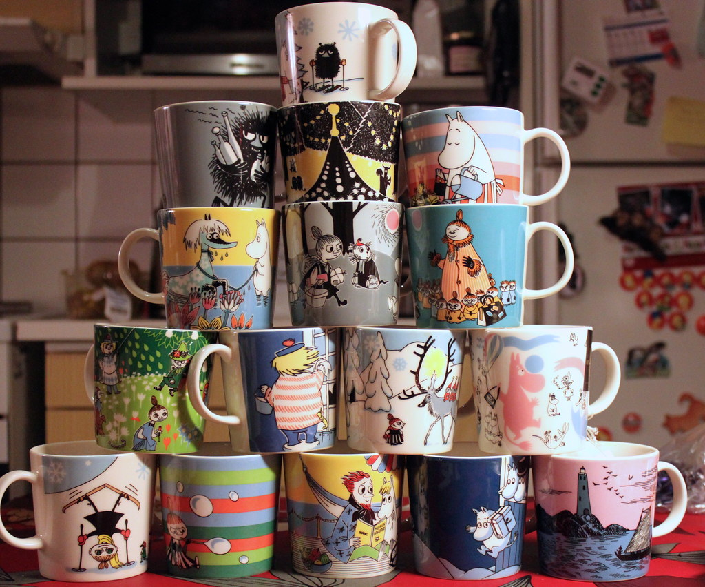 i don t collect moomin mugs but i buy them is that collect