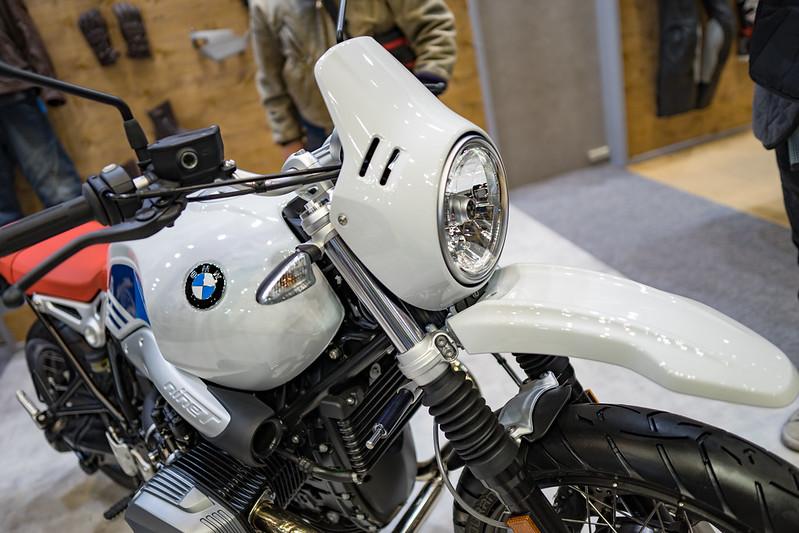 Tokyo MC Show 2017 : BMW R nineT Urban G/S