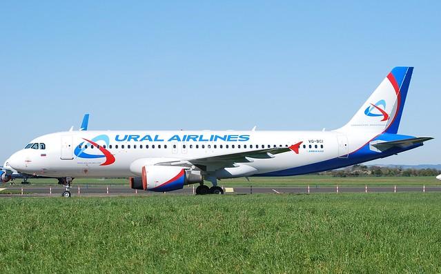VQ-BCI A320 Ural A/L
