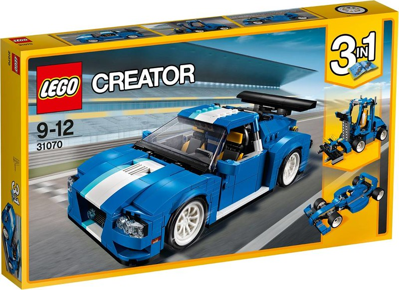 LEGO Creator Estate 2017 - Turbo Track Racer (31070)