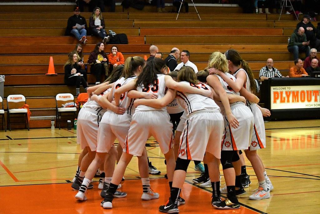 Girls Basketball Playoff vs Kewaskum