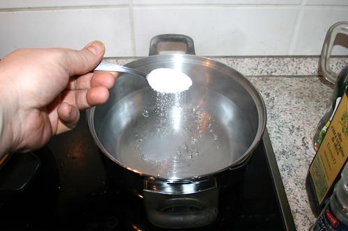46 - Wasser salzen / Salt water
