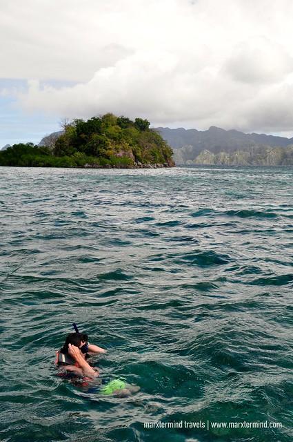 Snorkeling at CYC Coral Garden Coron