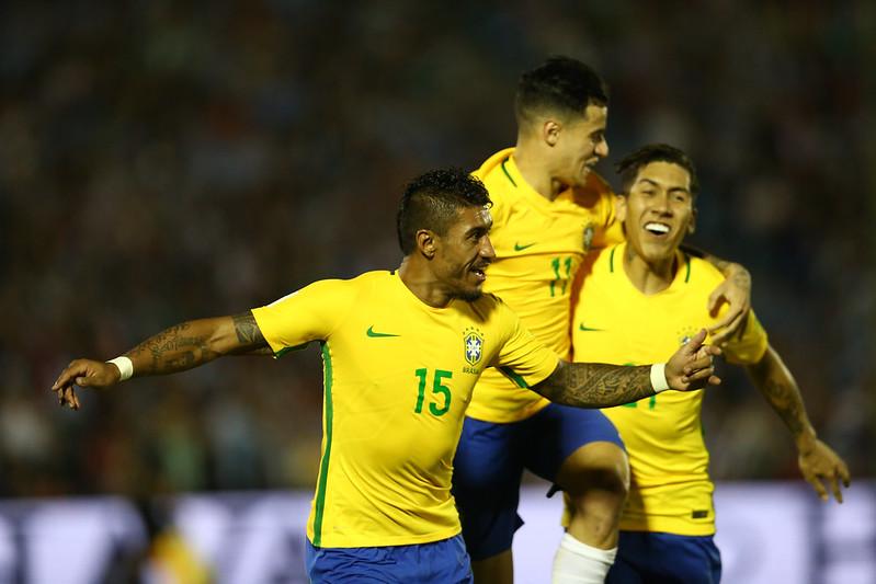 Uruguai x Brasil pelas Eliminatórias da Copa de 2018