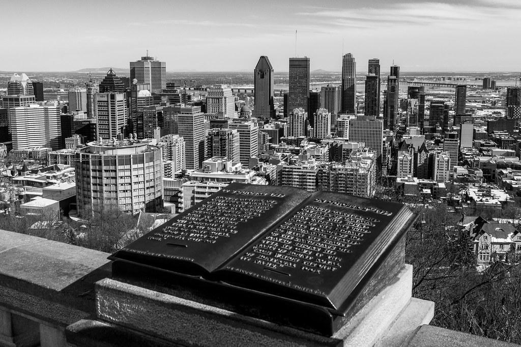 Panoramique de Montréal en N&B 33507404822_4c976eef43_b