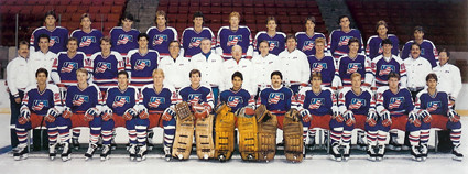 !988 US Olympic hockey team