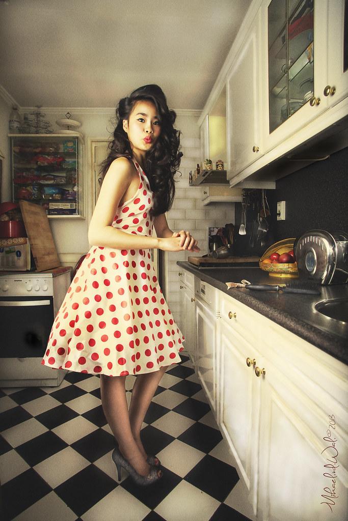model Ilse asian