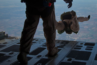 Sunday skydive: Wing Marines send MARSOC soaring into Midwest | by Tyler J. Bolken