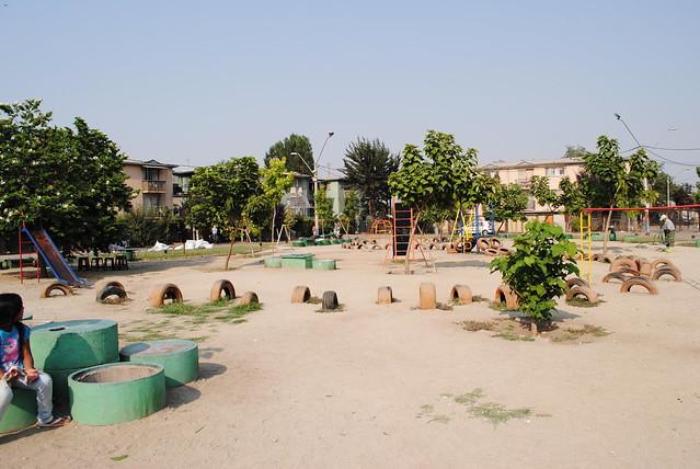 Plaza Central - Villa San Luis - Renca