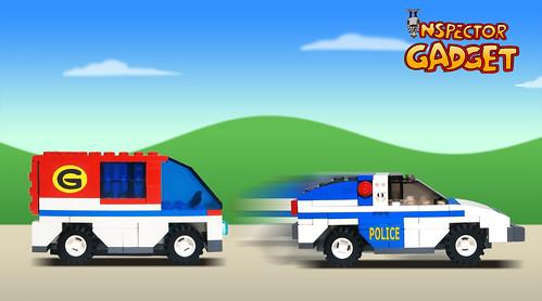 Inspector Gadget - Van...
